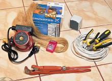 Установка насоса в системе отопления дома