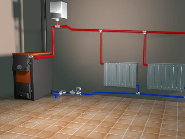 Особенности системы отопления с углем. Принцип работы котлов длительного горения. Классификация и выбор твердого топлива. Способы подсчета расхода угля по месяцам.