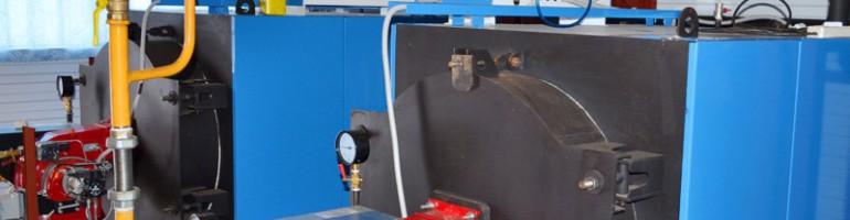Отопление промышленными газовыми котлами