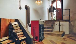 Выгодное отопление дома дровяным котлом