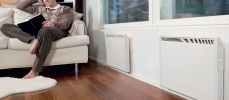 Использование в отоплении дома электроконвекторов
