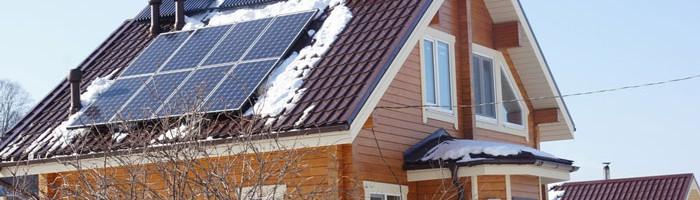 Солнечная энергия в отоплении дома