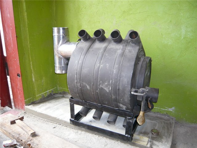 Отопление с помощью дров и угля