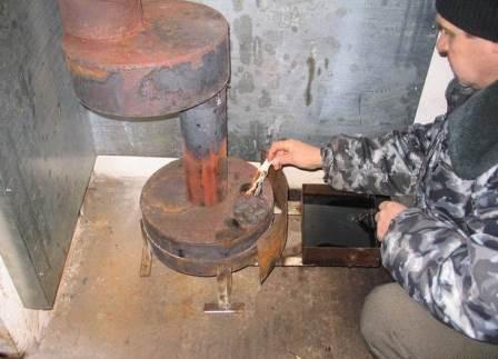 Отопление с помощью отработанного машинного масла