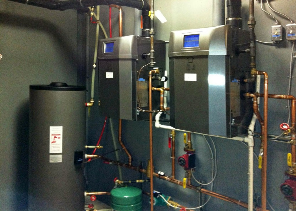 Отопление на электричестве и твердом топливе