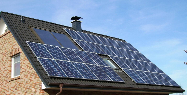 схема солнечной батареи для производственных объектов