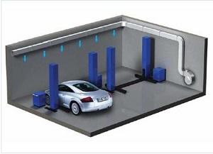 Гаражная система воздушного отопления