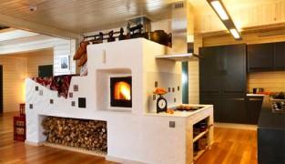 Дровяное отопление дачного дома