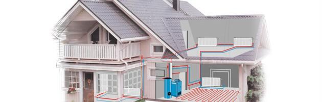 Проектирование отопления для дома