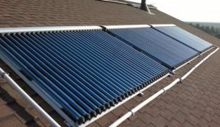 Использование в отоплении солнечных коллекторов