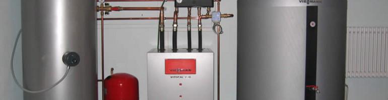 Установка в доме газового отопления