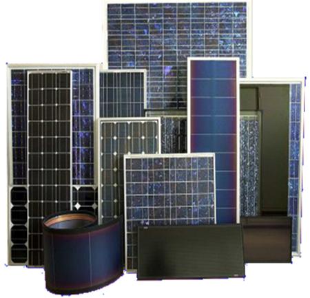 Типы и комплектации солнечных батарей