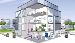 Способы монтажа отопления в доме