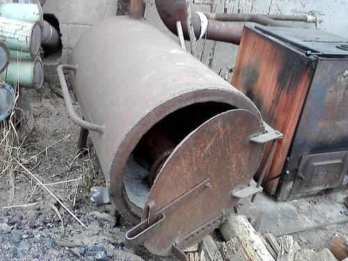 Котел №2, способ отопления: пиролизный газ