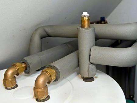 Утепление труб в помещении