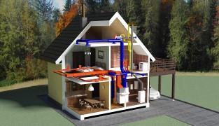 Оптимальное отопление для загородного дома