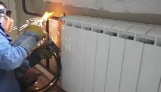 Правила монтажа и демонтажа батарей