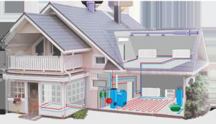 Реализация отопления для частного дома