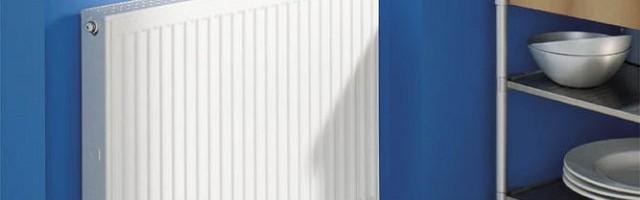 Монтаж плоских радиаторов