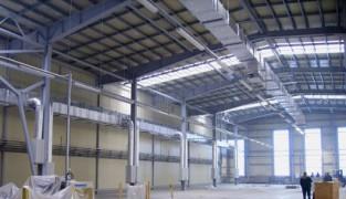 Как обогреть производственное помещение воздушным отоплением