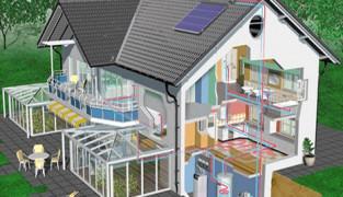 Установка отопления в загородном доме