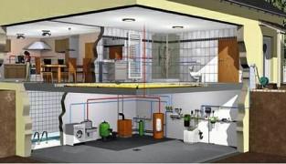 Чертежи и схемы для системы отопления