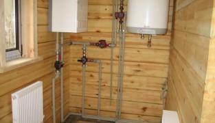 Установка системы отопления в частном доме
