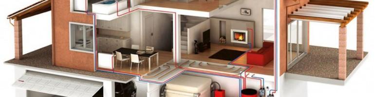 Примеры отопления для частного дома