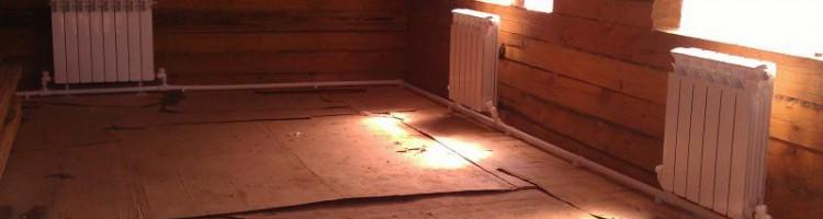 Принцип работы однотрубной системы отопления