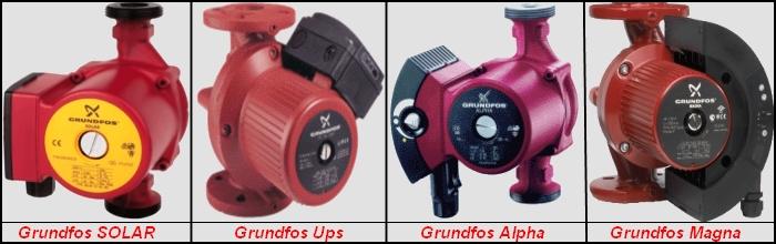 Популярные модели Grundfos