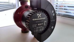 Циркуляционный насос для отопления с сухим и мокрым ротором