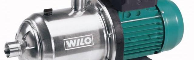 Технические характеристики циркуляционных насосов Wilo
