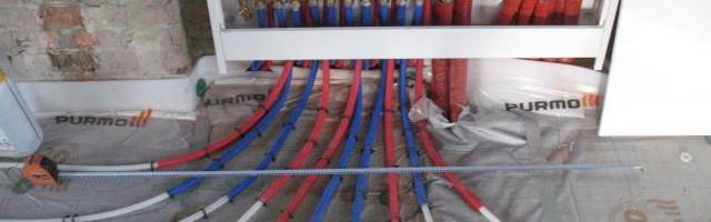 Принцип работы лучевой системы отопления