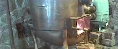 Как самостоятельно сделать пиролизный котел