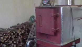 Схема монтажа пиролизного котла для отопления