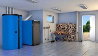 Как работает пиролизный котел на твердом топливе