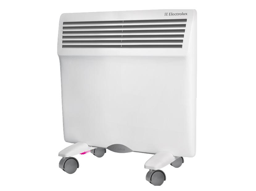 Тепло с электрическими конвекторами