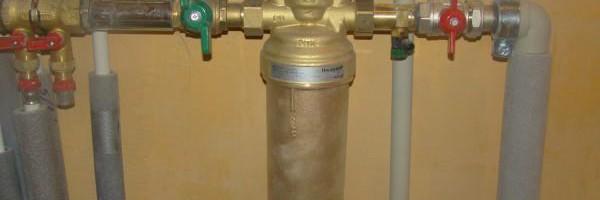 Очистка отопления при помощи грязевика