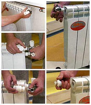Функционирование радиатора